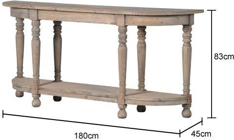 Recycled Pine Console Table image 2