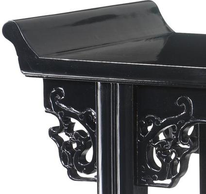 Altar Table, Black Lacquer image 2