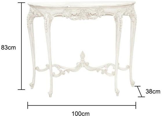 Ornate French Console Table image 2