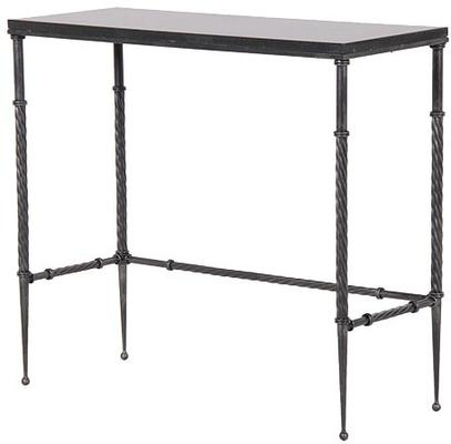 Slim Metal Console Table