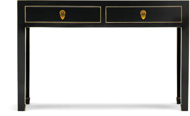 Large Classic Chinese Console Table - Black image 3