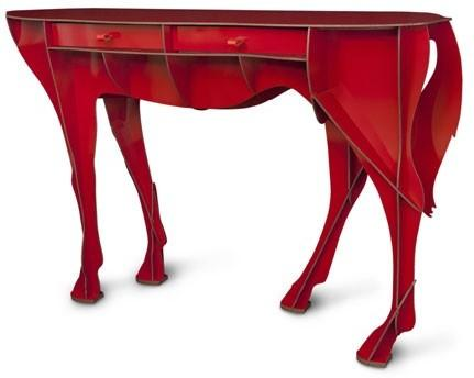 Elisee Racehorse Console Table image 2