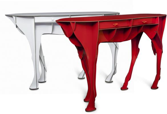 Elisee Racehorse Console Table image 4