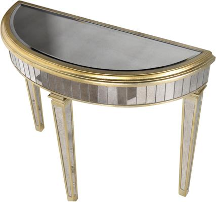 Curved Venetian Console Table image 3