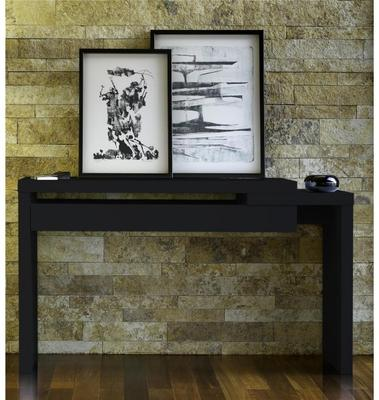 TemaHome Reef Console Table Contemporary Matt White Lacquer image 4