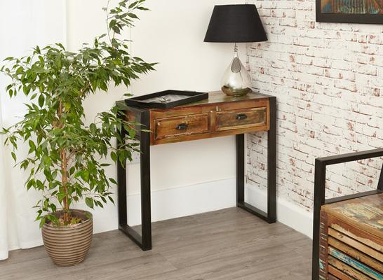 Shoreditch Console Table Reclaimed Wood