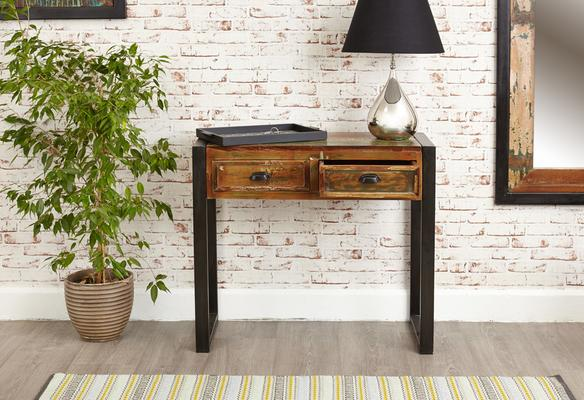 Shoreditch Console Table Reclaimed Wood image 3