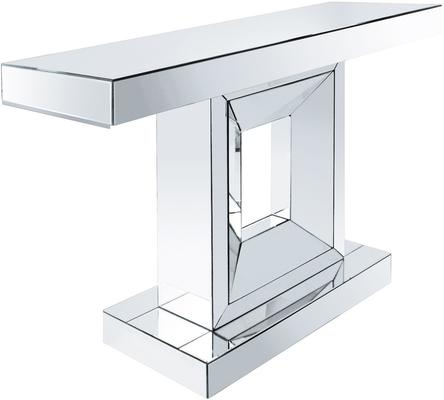 Angular Mirrored Console Table