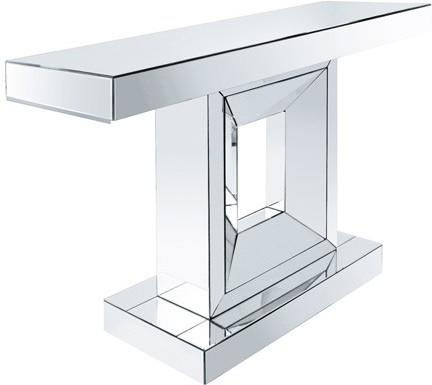 Angular Mirrored Console Table image 2