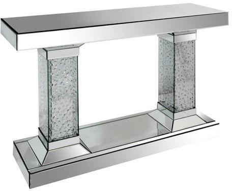Twin Pillar Mirrored Console image 2