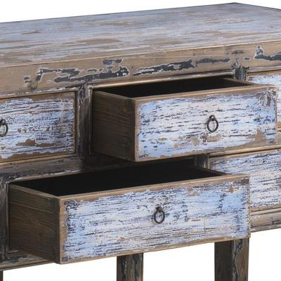 Multi drawer Console in Blue & Black image 5