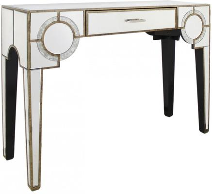 Antique Mirrored Console Venetian Style