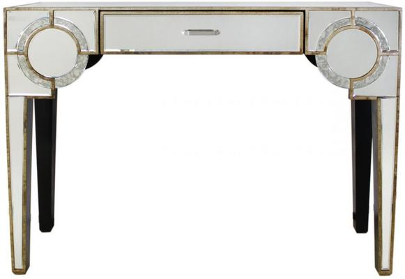Antique Mirrored Console Venetian Style image 3