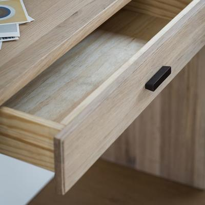 Kielder Console Table Solid Oak With Drawer  image 3