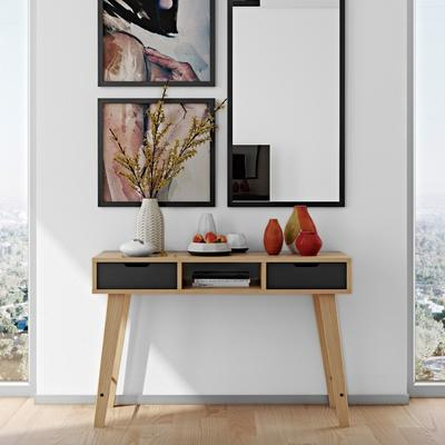 Lime console table image 4