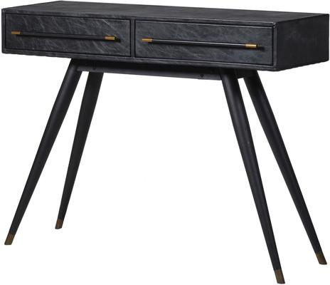 Leather Console Table Contemporary