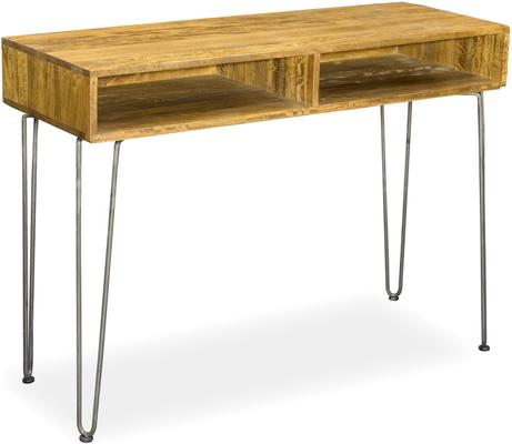 Hairpin Console Table Mango Wood and Steel image 2