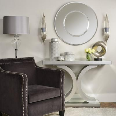 Verona Mirrored Console Table Art Deco image 2