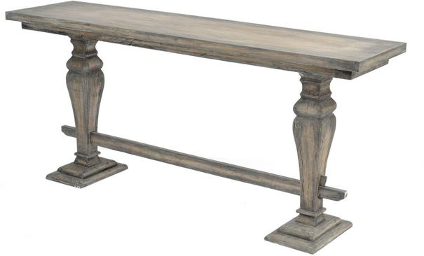 Roxborough Rustic Mindi Wooden Console Table