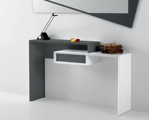 Smart console table with drawer image 2