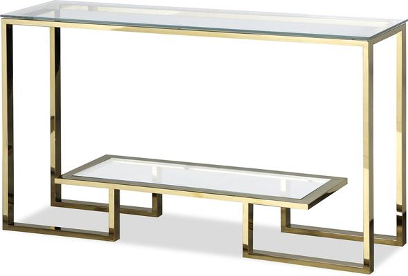 Mayfair Console Table - Steel, Bronze or Gold Frame image 5