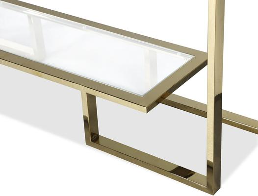 Mayfair Console Table - Steel, Bronze or Gold Frame image 7