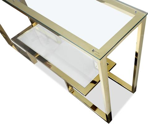 Mayfair Console Table - Steel, Bronze or Gold Frame image 8
