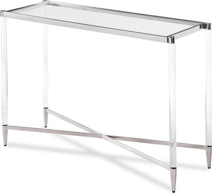 Ralph Console Table Polished Brass or Steel