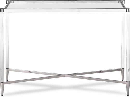 Ralph Console Table Polished Brass or Steel image 2