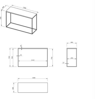Gleam console table image 15