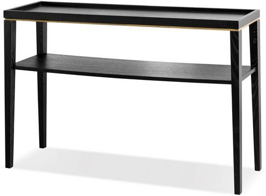 Otium Console Table Dark Wenge Wood