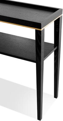 Otium Console Table Dark Wenge Wood image 5