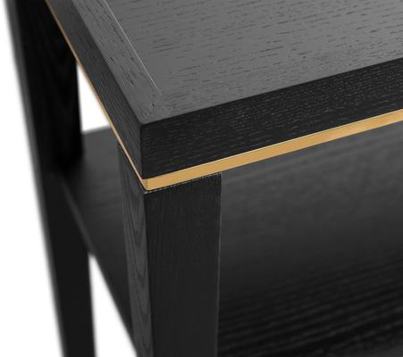 Otium Console Table Dark Wenge Wood image 6