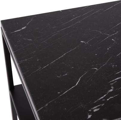 Chancery Marquina Marble Console Table image 2