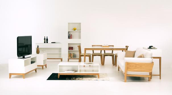 Blanco console bookcase image 5