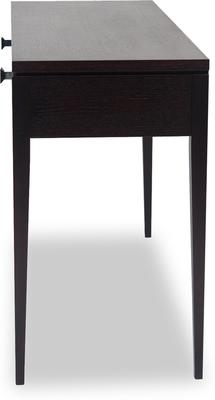 Roma Black Console Table Two Drawers image 3