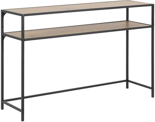 Seafor console table with shelf