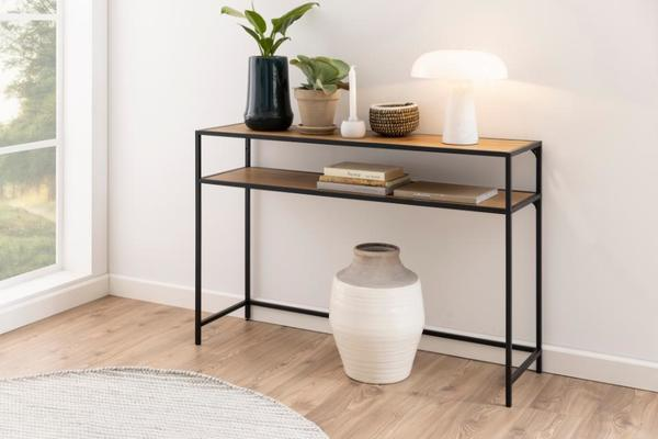 Seafor console table with shelf image 4