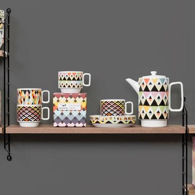 Viva Cup and Saucer Duo - Chevron image 4
