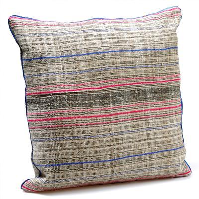 Miao Large Striped Cushion