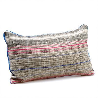 Miao Striped Bolster Cushion