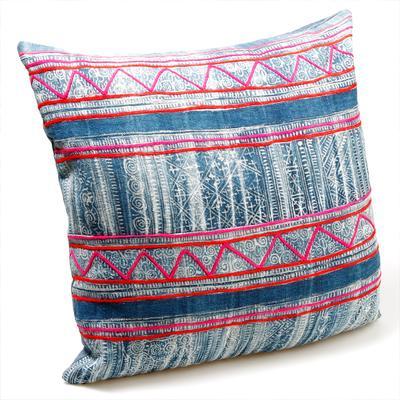 Miao Patterned Cushion