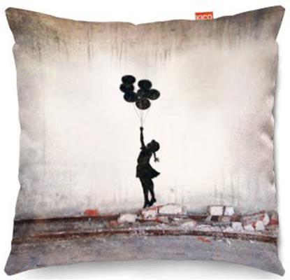 Banksy Balloons Sofa Cushion