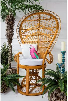 Pink Parrot Cushion image 3