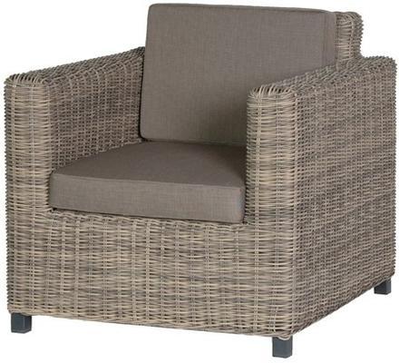 Chunky Rattan Outdoor Armchair