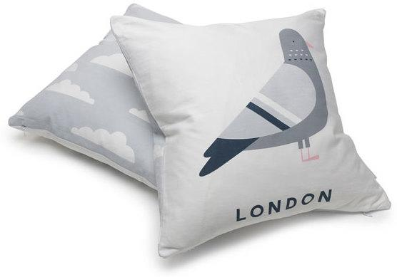 Evermade London Pigeon Cushion image 3