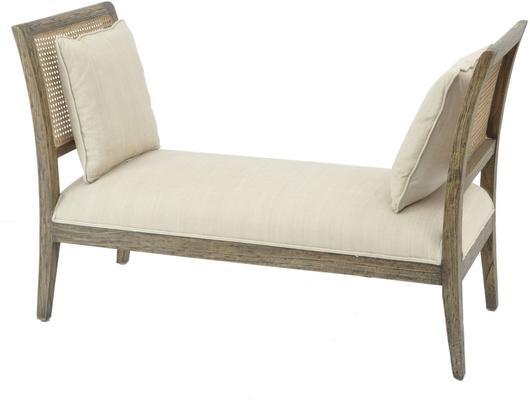 Roxborough Mindi Rattan Chaise With Two Cushions