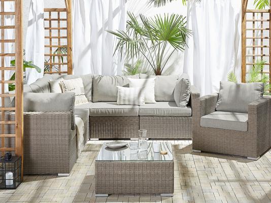 Contare Outdoor 3 Piece Modular Sofa Set image 2