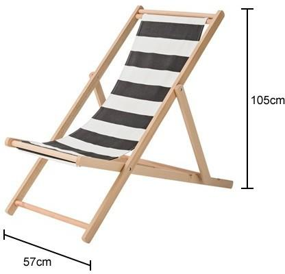 Bloomingville Deck Chair Stripe Kit Succulent image 2