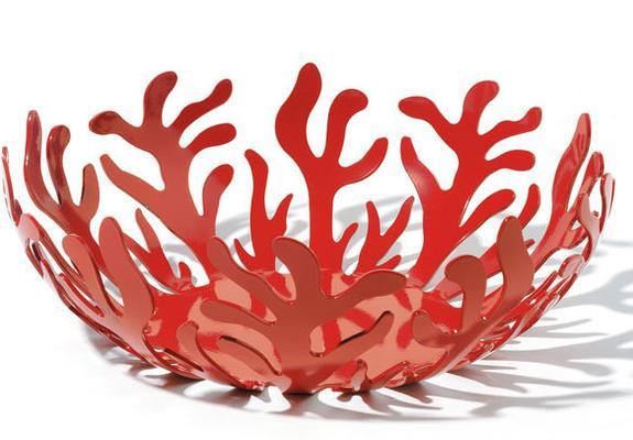 Alessi Mediterraneo Fruit Bowl Red - Large